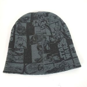 Star Wars Unisex Skull Cap Black Gray Red